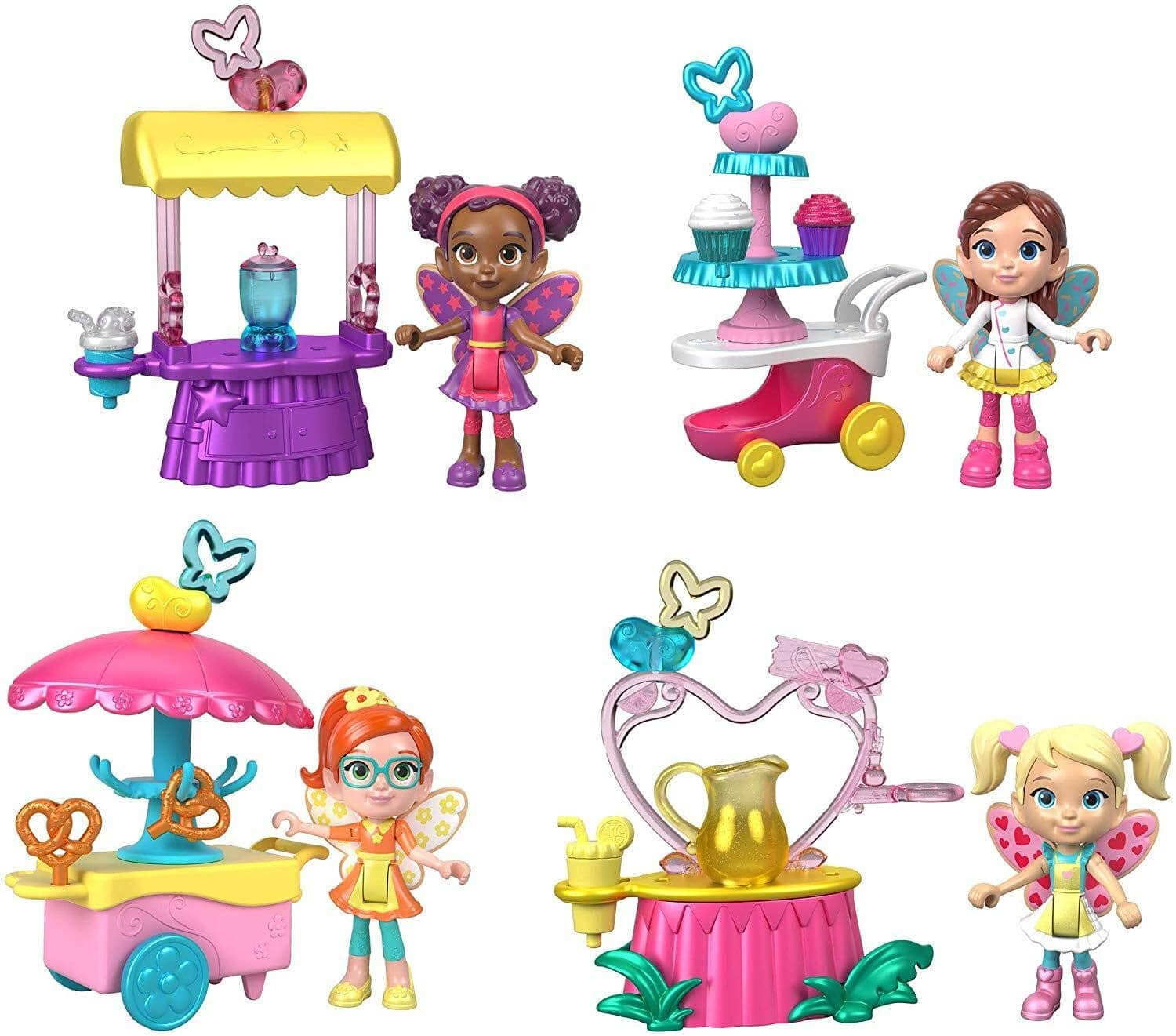 16-Pc Fisher-Price Nickelodeon Butterbean's Café Fairy Friends Figure Pack $10 + Free shipping w/ Amazon Prime or On Orders $25+