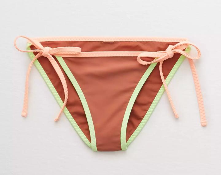 Aerie Women's Swimwear 60% Off + 15% Off: Bikini Bottoms from $6.75, Bikini Tops from $8.45, One Piece Swimsuits from $15.25 + Free Store Pickup