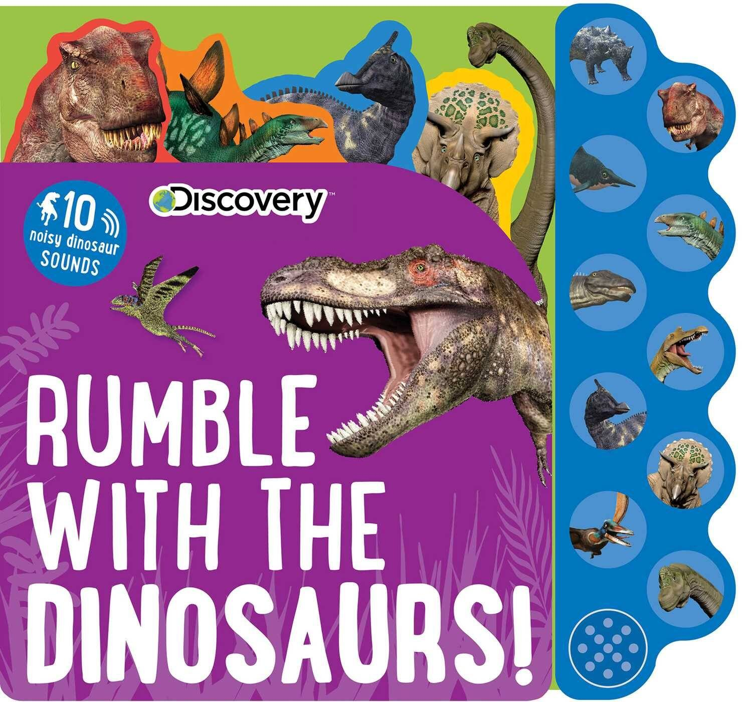 Discovery: Rumble with the Dinosaurs! (10-Button Sound Book) $5.85 + Free Shipping w/ Amazon Prime or On Orders $25+