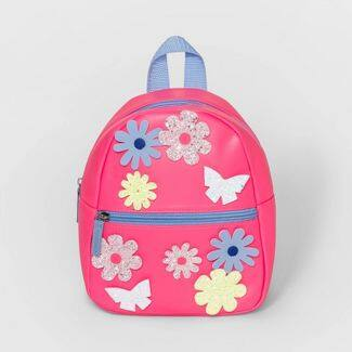 Cat & Jack Toddler Backpacks: Flower Pattern, Butterfly Print, or Construction Print $7.50 Each + Free Store Pickup at Target or F/S $35+