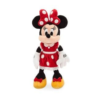 "Target 50% Off Plush: 14"" Disney Mickey Mouse & Friends Minnie Mouse Plush (Red or Pink Dress) $6.50, 13"" Mickey Mouse Plush $6.50 & More + Free Store Pickup"