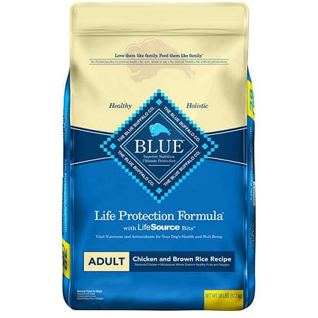 Sam's Club Members: 38-Lbs Blue Buffalo Life Protection Formula Adult Dry Dog Food $39 + Free Store Pickup or Free Shipping w/ Plus