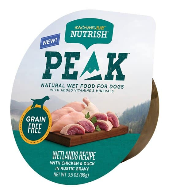 16-Pack Rachael Ray Nutrish PEAK Grain-Free Wetlands Recipe Wet Dog Food (3.5-Oz each) $9.05 w/ Autoship + Free Shipping $49+ or w/ Amazon Prime