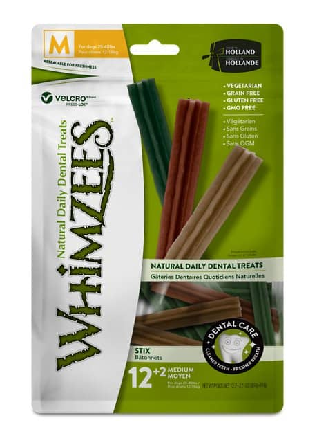 WHIMZEES Adult Dog Treats Buy 1 Get 1 75% Off: 96-Ct Brushzees Natural Daily Dental Dog Treats (x-small) $16.85 or less w/ Autoship & More + F/S $49+