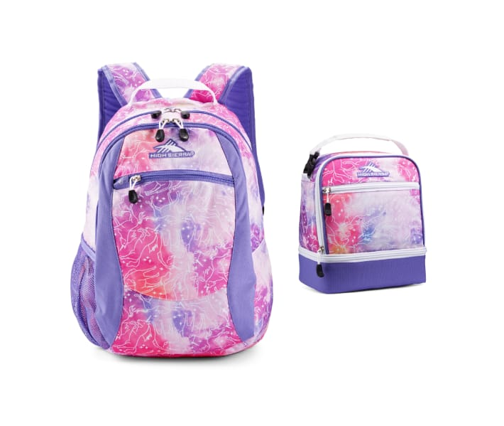High Sierra: Curve or Wilder Backpack (Various) + Lunch Bag (various) $23, Fatboy Backpack (various) + Lunch Bag (various) $27 & More + Free Shipping