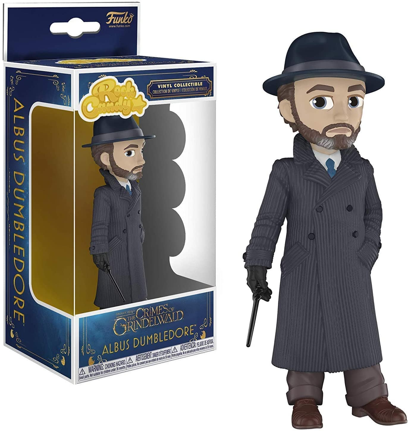 Funko Rock Candy: Fantastic Beasts 2 - Dumbledore $4.30 + Free Shipping w/ Amazon Prime or Orders $25+