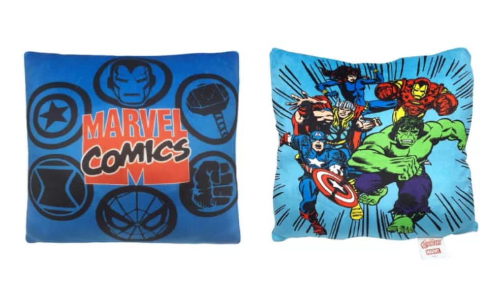 "2-Pack Disney 12"" x 12"" Squishy Pillows: Marvel Comics, Frozen 2, or Disney Princesses $12 + Free Store Pickup at Macy's or F/S $25+"