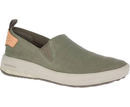 Merrell 60% Off Gridway Collection: Men's Gridway Moc Canvas Sneakers (various colors) $36 & More + Free Shipping