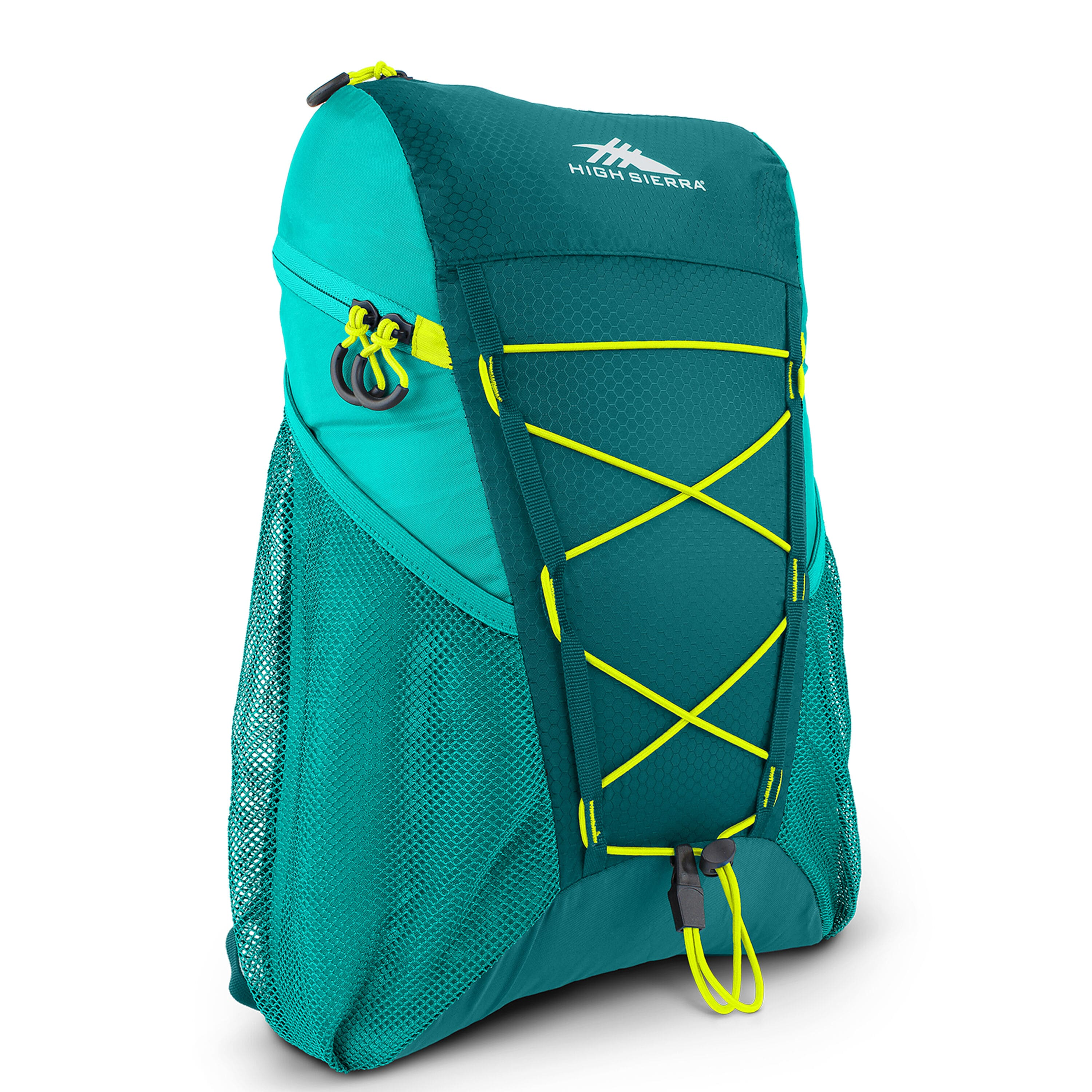 High Sierra Pack-N-Go 2 18L Sport Backpack (Sea/Tropic Teal/Zest) $12.60 + Free Shipping