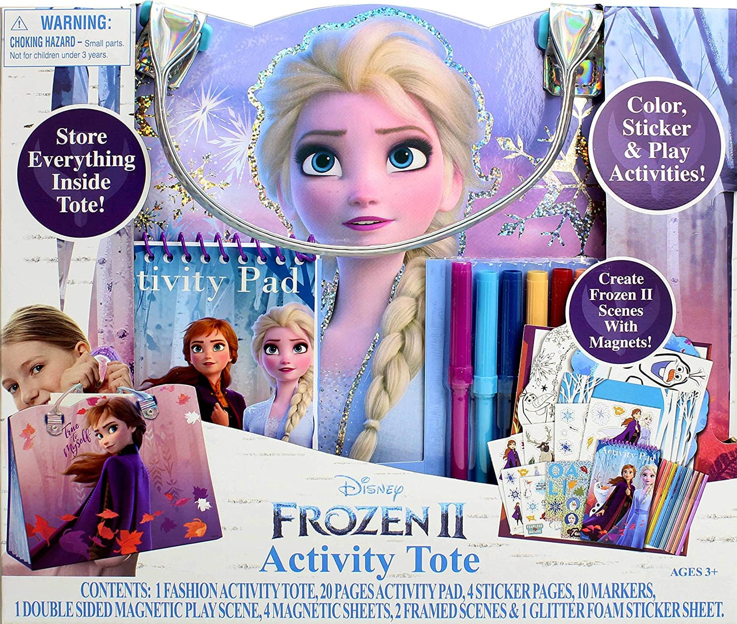 24-Pc Disney Frozen 2 Activity Tote $13.45 + Free Shipping w/ Amazon Prime or Orders $25+