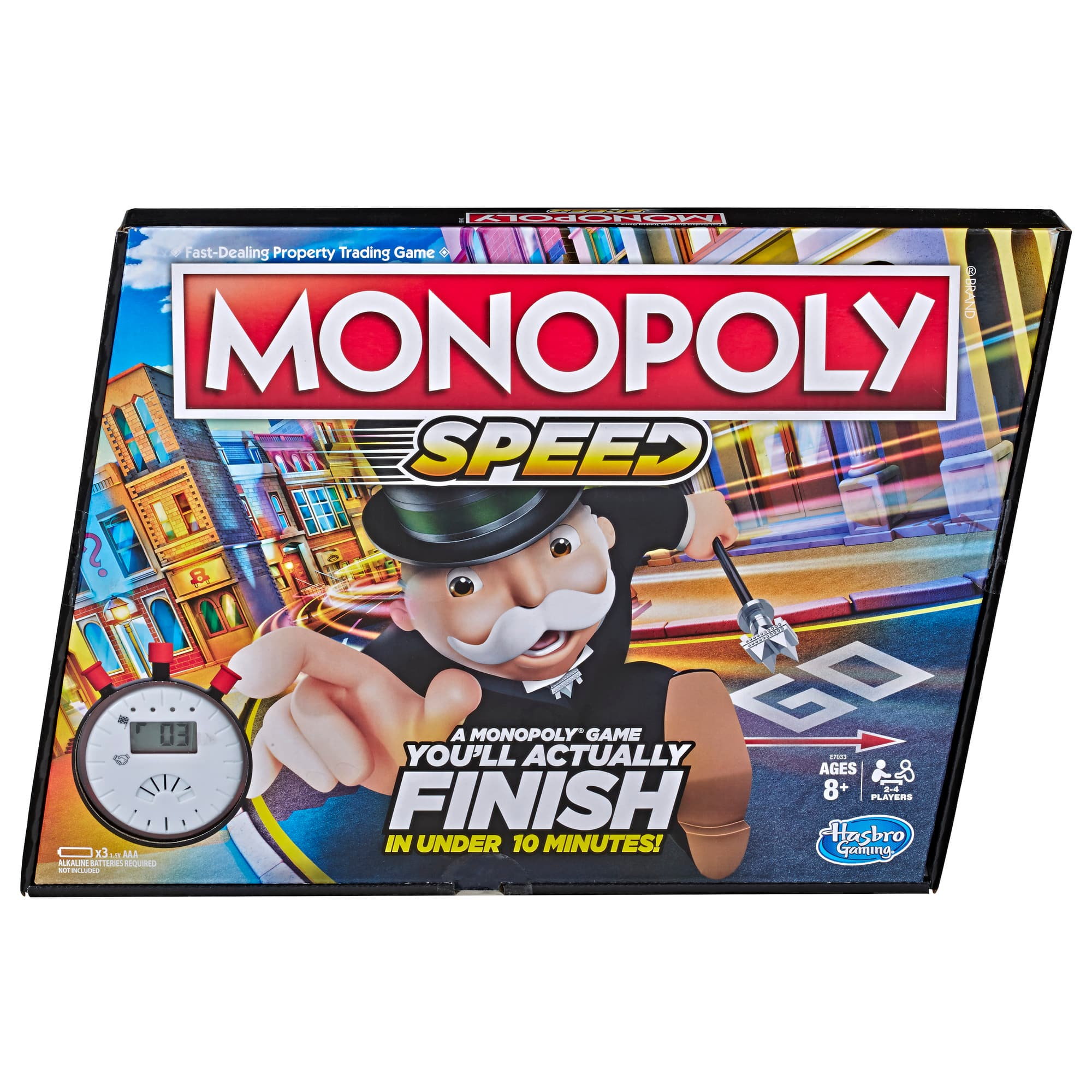Monopoly Speed Board Game $10 + Free Shipping w/ Amazon Prime or Orders $25+