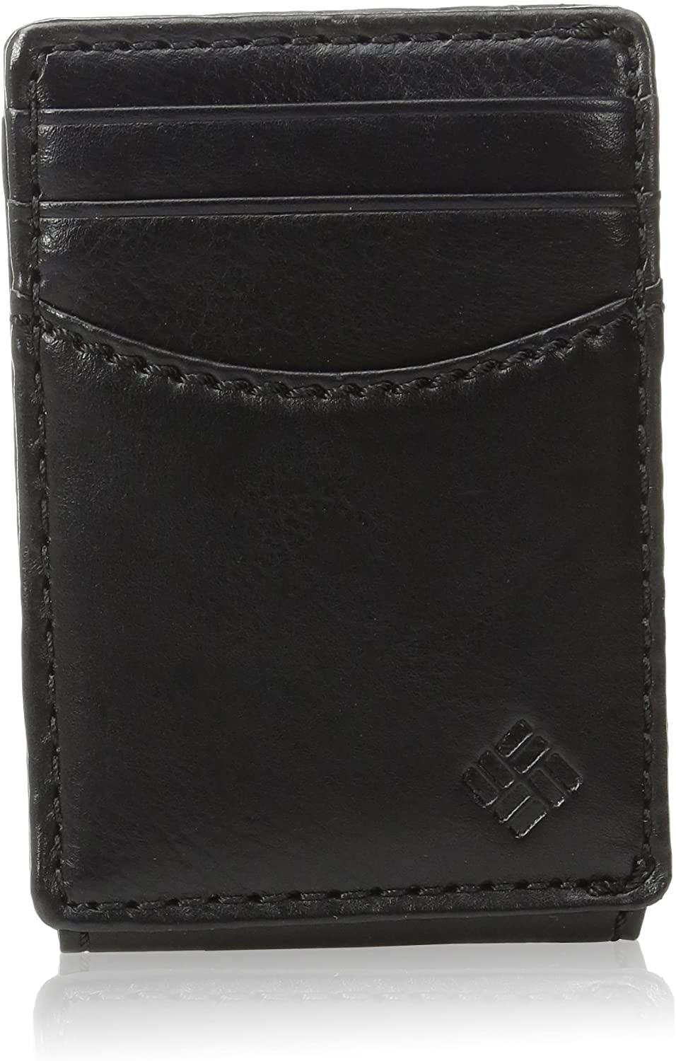 Columbia Men's RFID Blocking Leather Front Pocket Wallet Card Holder (Granby Black) $11.90 + Free Shipping w/ Amazon Prime or Orders $25+