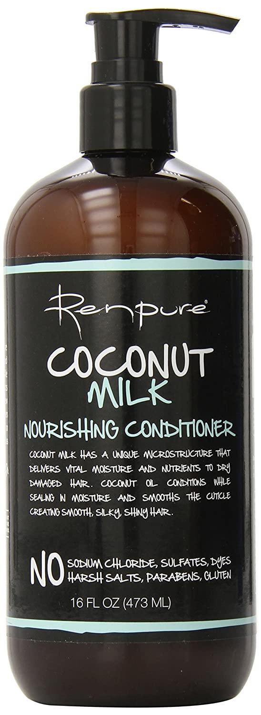 16-Oz RENPURE Coconut Milk Nourishing Conditioner $4.55 w/ S&S + Free Shipping w/ Amazon Prime or Orders $25+