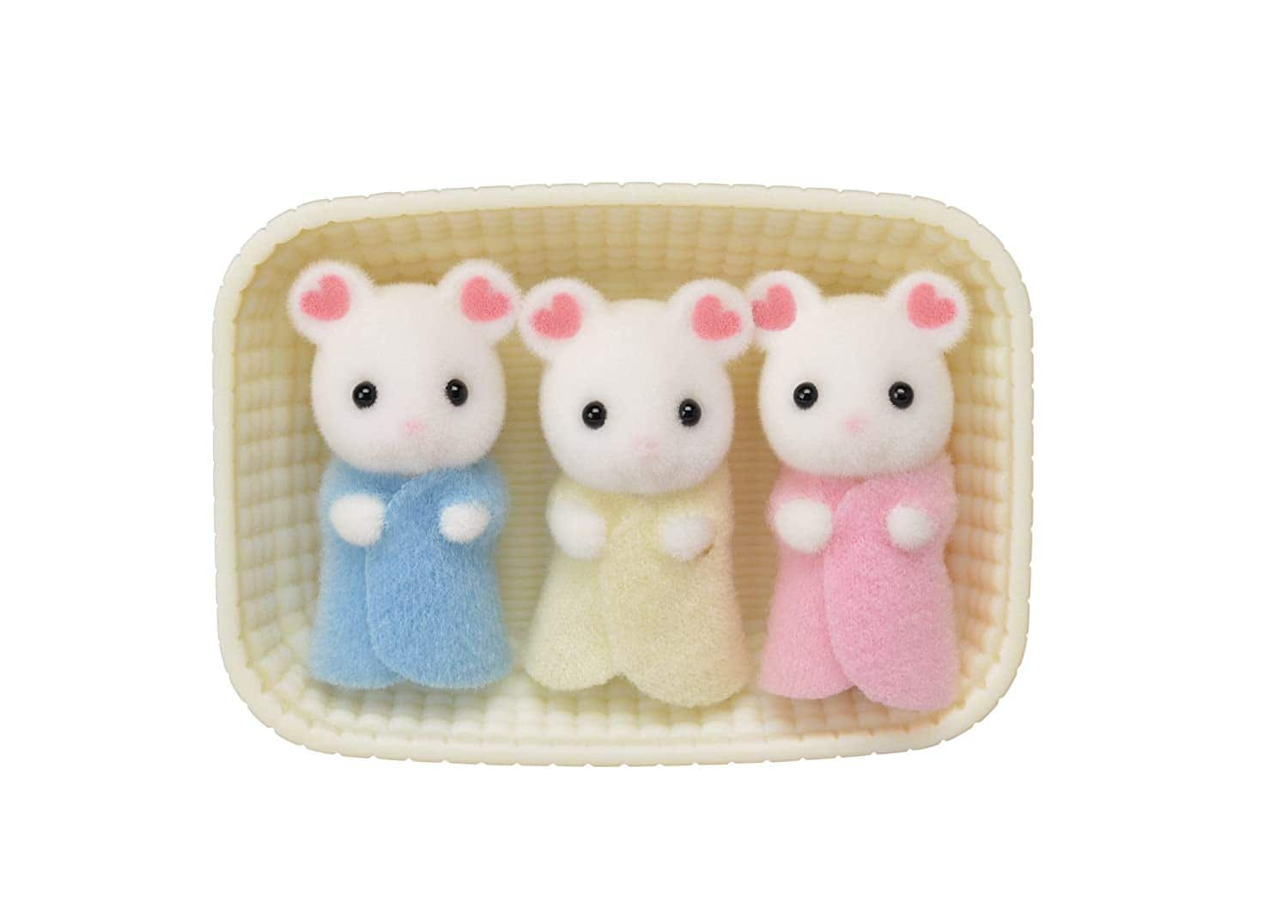 Calico Critters Marshmallow Mouse Triplets $5 + Free Shipping w/ Amazon Prime or Orders $25+
