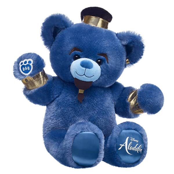 Build-A-Bear Up to 60% Off: Disney Aladdin Genie Inspired Bear $12.75, Star Wars Rey Bear $14 & More + Free Shipping $45+