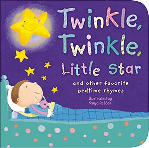 Twinkle, Twinkle, Little Star: and Other Favorite Bedtime Rhymes (Padded Board Book) $3.50 + Free Shipping w/ Amazon Prime or Orders $25+