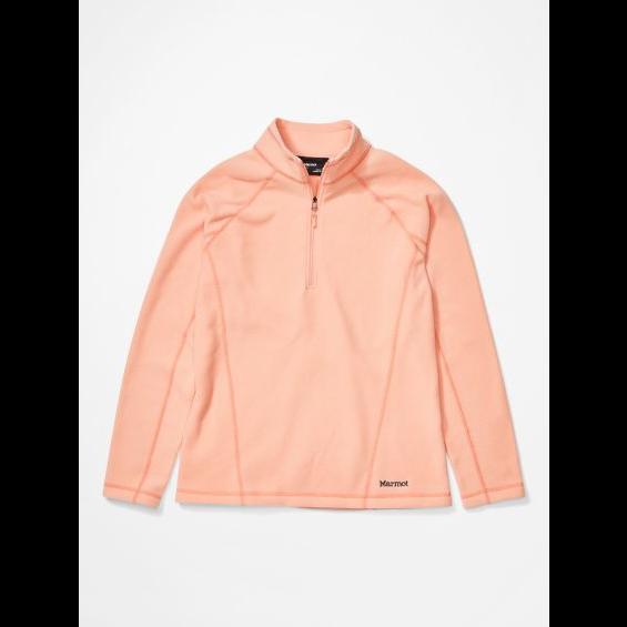 Marmot Outerwear Sale: Women's Rocklin ½ Zip Jacket (Pink Lemonade) $27, Men's Rocklin ½ Zip Jacket (Classic Blue) $34 & More + Free Shipping