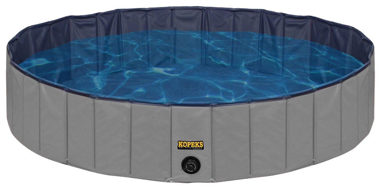 KOPEKS Outdoor Portable Dog Swimming Pool (X-Large) $33 + Free Shipping