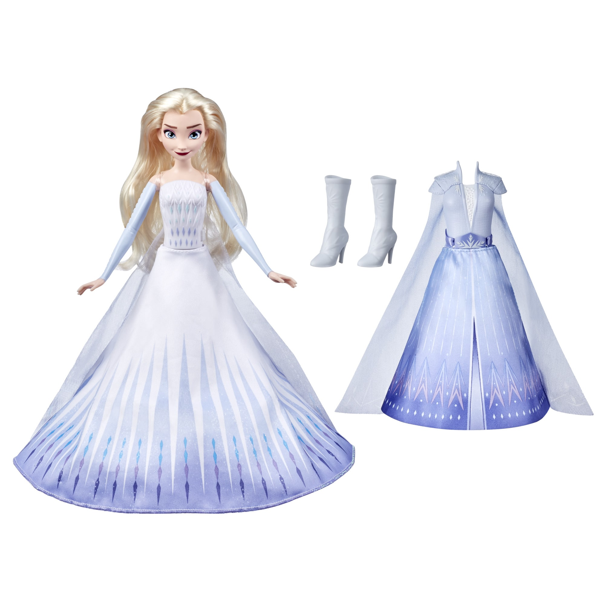 Disney's Frozen 2 Transformation Fashion Doll w/ 2 Outfits & Hair Styles (Elsa or Anna) $15 + Free Shipping w/ Amazon Prime or Orders $25+