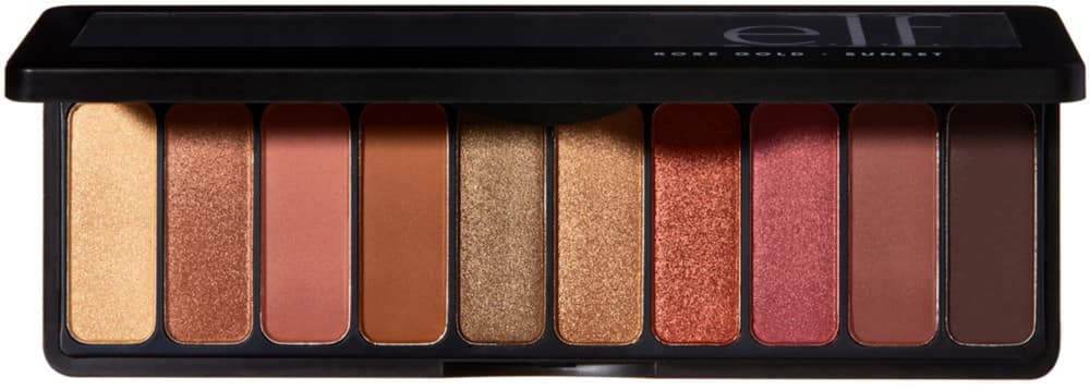 e.l.f. Rose Gold 10-Shade Eyeshadow Palette (Sunset) $5 + Free Shipping w/ Amazon Prime or Orders $25+