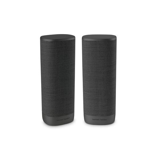 HarmanAudio: Harman Kardon Citation Powered Surround Sound Speakers (Black, Pair) @ 0.00 + Free Shipping