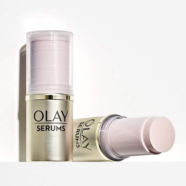 Olay Pressed Serum Stick (Refreshing or Brightening) $7 + Free Shipping