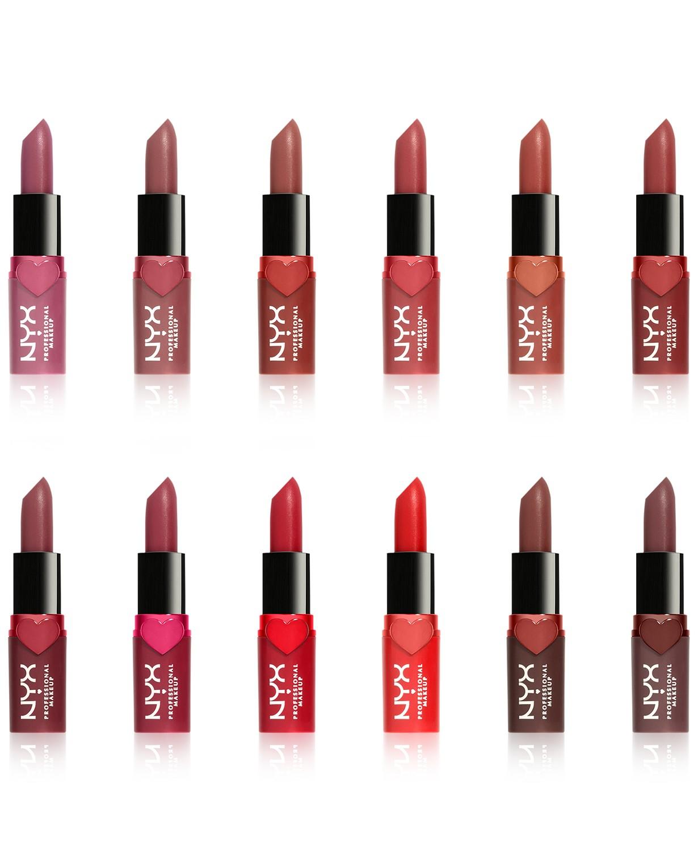 12-Pc NYX Professional Makeup Diamonds & Ice Please! Matte Lipstick Set $25 + Free Shipping