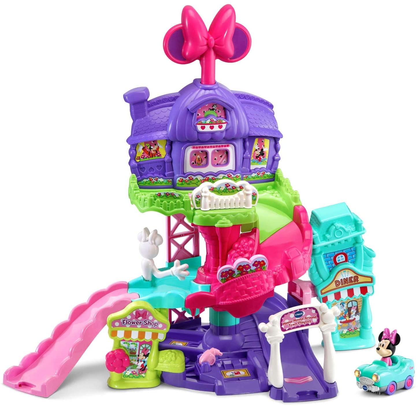 VTech Go! Go! Smart Wheels Disney Minnie Mouse Around Town Playset $17.50 + Free Shipping w/ Amazon Prime or Orders $25+