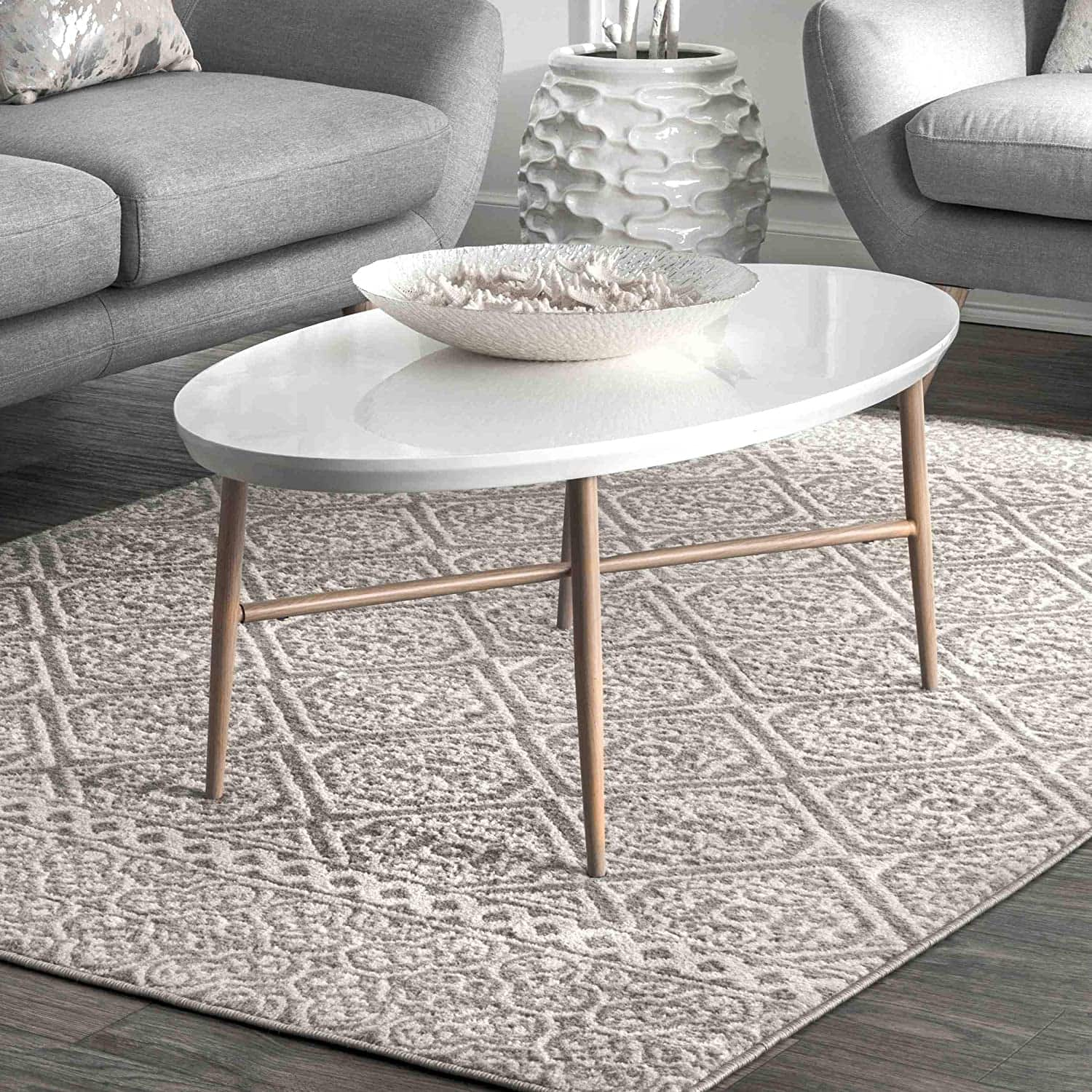 5' x 8' nuLOOM Floral Jeanette Area Rug $40.75 + Free Shipping