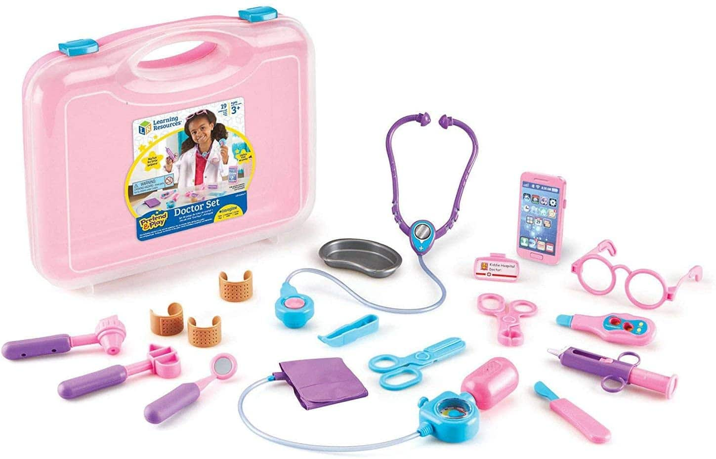 19-Pc Learning Resources Pretend and Play Doctor Kit $18.10 + Free Shipping w/ Amazon Prime or Orders $25+