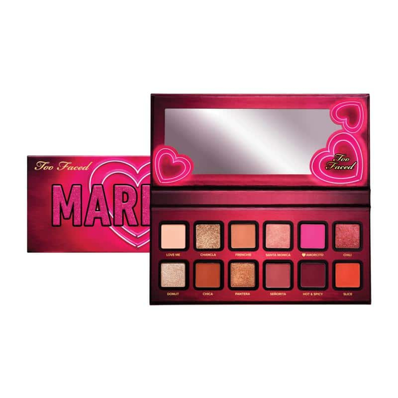 New HSN Customers: Too Faced Mariale Amor Caliente Eye Shadow Palette $15.20 + Free Shipping