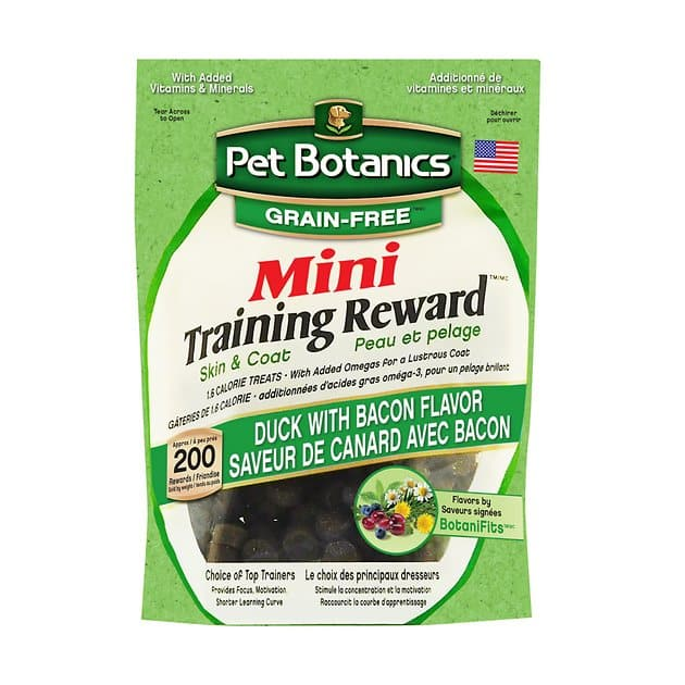 4-Oz Pet Botanics Mini Training Reward Dog Treats $2.30 w/ S&S + Free Shipping w/ Amazon Prime or Orders $25+