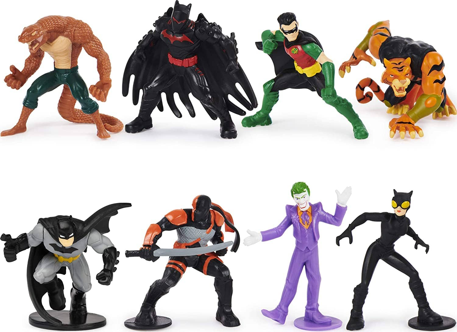 "8-Pack Batman 2"" Collectible Mini Action Figures $9.65 + Free Shipping w/ Amazon Prime or Orders $25+"