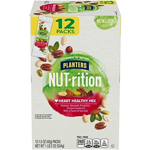 Amazon Prime Pantry - Planters Nutrition, 12 count, 1.5 ounce (1 lb 2 OZ Box) - $1.85 Per Box ($10.98 at Sam's)