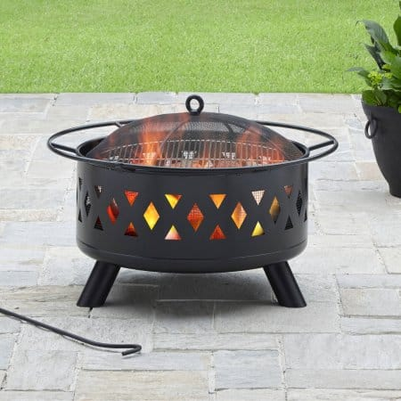 "Better Homes and Gardens 28"" Lattice Heavy Duty Fire Pit"