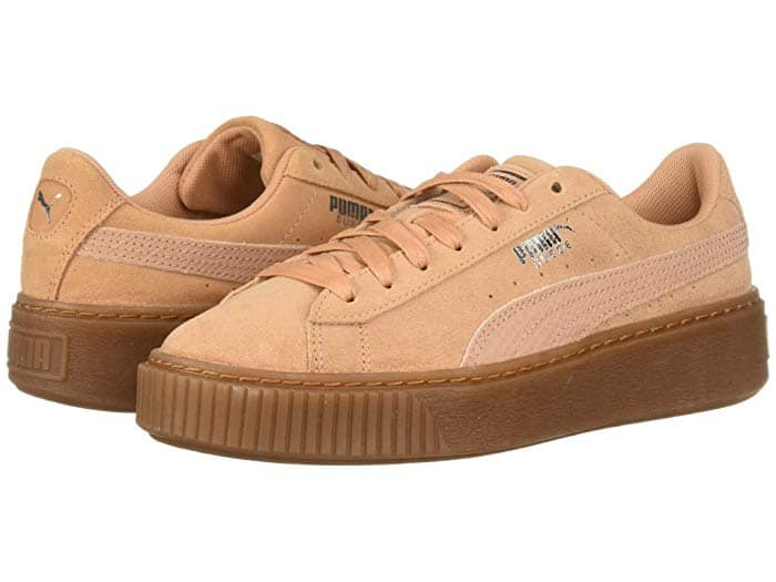 PUMA Suede Platform Animal Woman Shoe, only $22.15 now $22.14