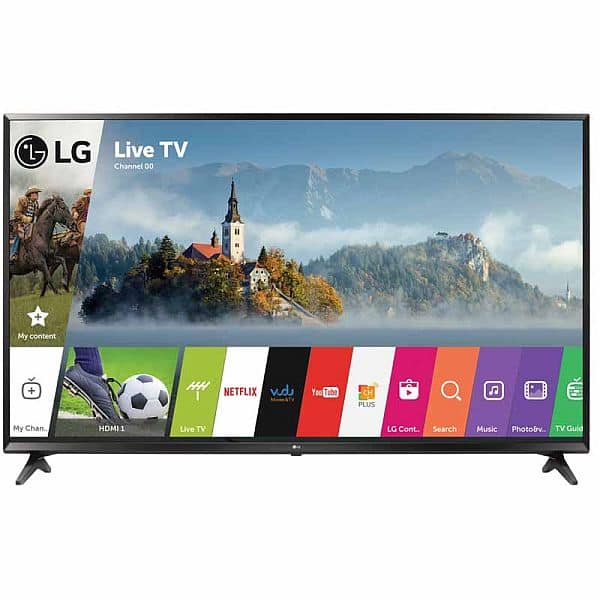 """LG 49"""" Class UJ6300 Series 4K HDR Smart LED TV $359"""