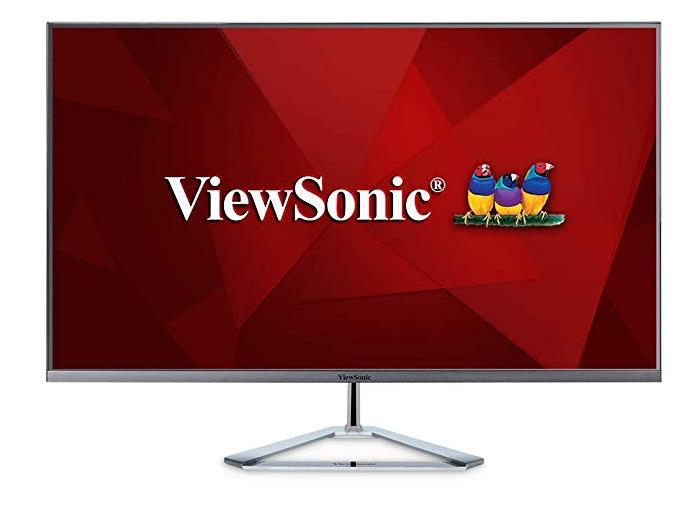 ViewSonic VX3276-2K-MHD 32 Inch Frameless Widescreen IPS 1440p Monitor - $195.99 + Free Shipping