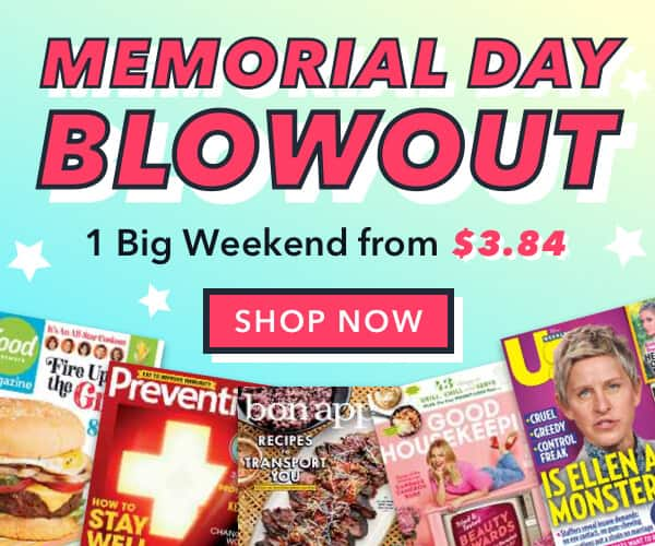 DiscountMags: Memorial Day Blowout Sale