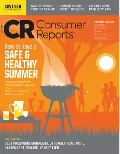 Magazines: Consumer Reports $15.99/yr, Smithsonian $7.75/yr, Bon Appetit $4/yr, Popular Mechanics $5.75/yr