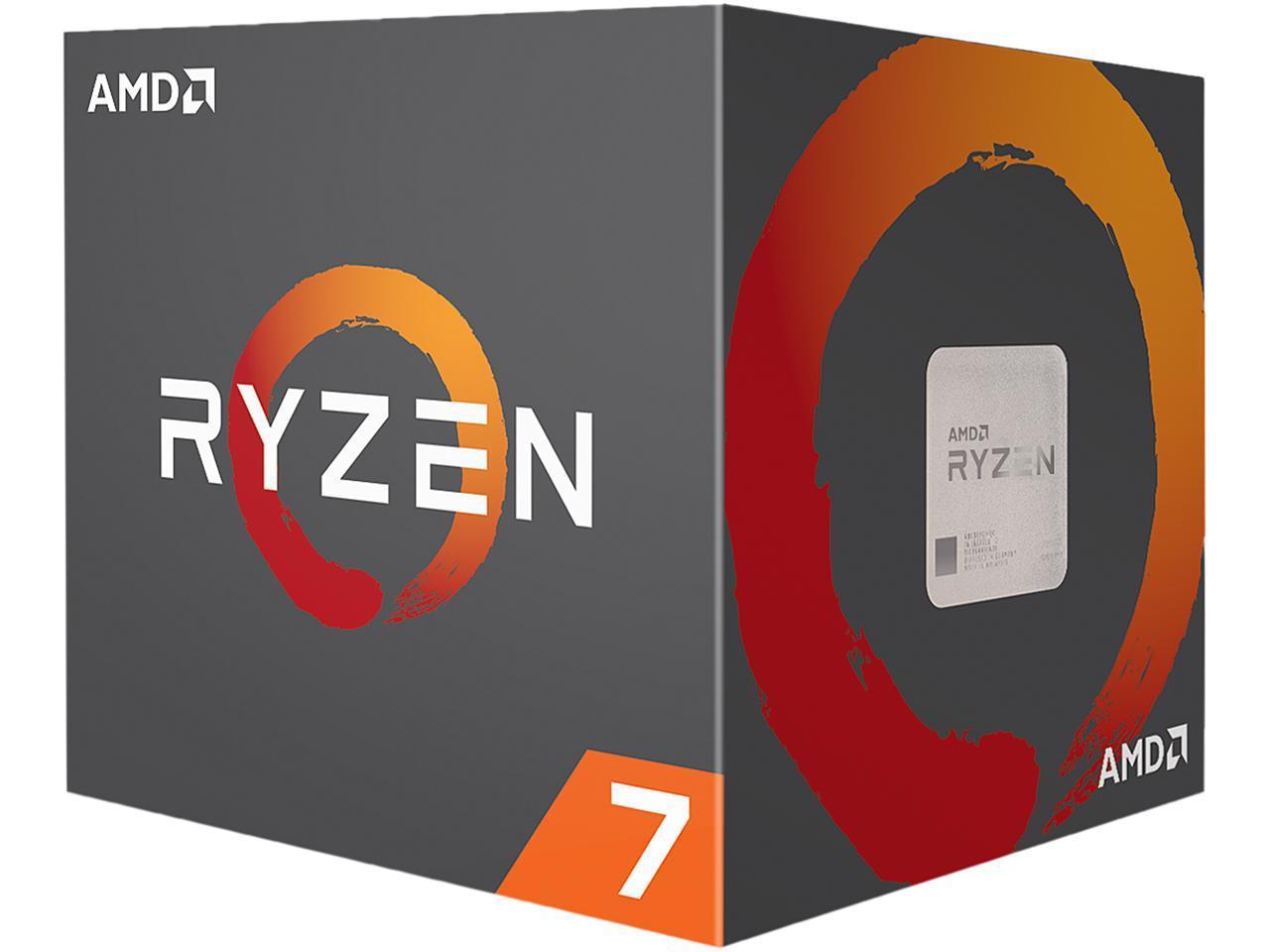 AMD Ryzen 7 2700X 8-Core 3.7 GHz (4.3 GHz Max Boost) Socket AM4 105W YD270XBGAFBOX Desktop Processor $199.99