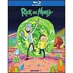 Rick and Morty: Season 1 (Blu-ray or DVD) on sale for $13.99 + $1.29 shipping = $15.28 (restock)