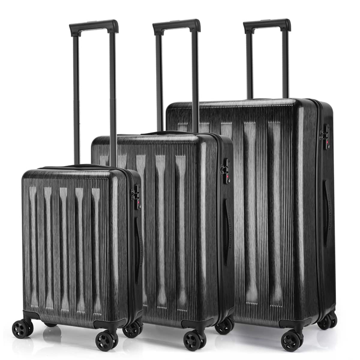 Keenstone Lightweight 3pcs Luggage Sets including 20''/24''/28''with TSA lock and integrated weight scale @ Walmart.  $139.99