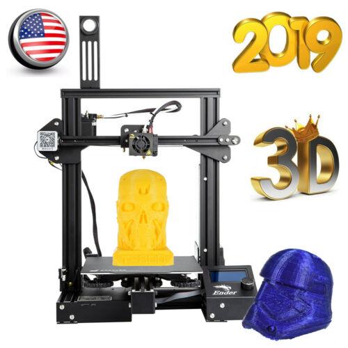 Creality Ender 3 Pro 3D Printer Magnetic Hot Bed Sticker 220x220x250mm DC 24V US $205.98