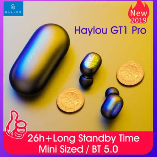 Xiaomi Haylou GT1 Pro TWS Earphones Wireless Bluetooth 5.0 AAC DSP Mini Earbuds $20.85