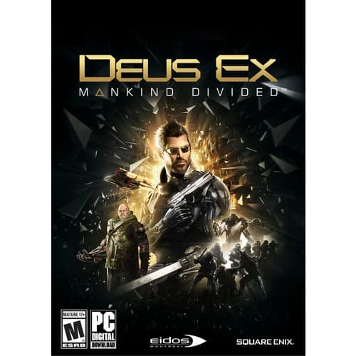 Deus Ex: Mankind Divided $8.99 and Season Pass $4.49 on Amazon and Steam (PCDD)