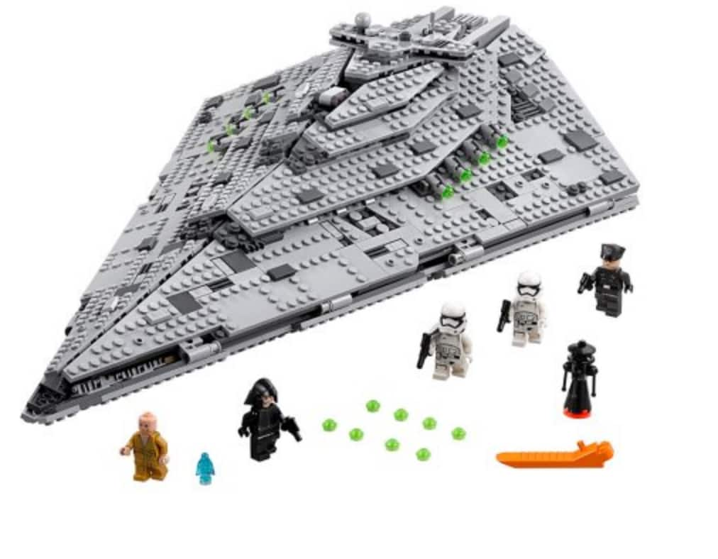 LEGO Star Wars First Order Star Destroyer 75190 YMMV $99