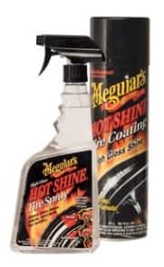 Meguiar's Hot Shine High Gloss Tire Care: 24-Oz Tire Spray + 15-Oz Tire Coating $9 + Free Store Pickup at PepBoys