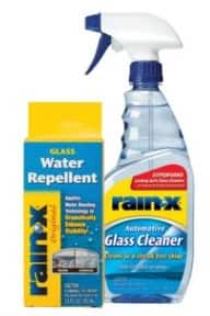Rain-X 3.5-oz Water Repellent or 23-oz Glass Cleaner 2 for $6 ($3 each) + Free Store Pickup at Pep Boys