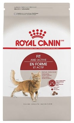 28-lbs Royal Canin Adult Fit & Active Dry Cat Food $38.84 ($1.39 per lb) + Free Shipping